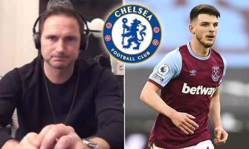 Lampard admits he was a 'big fan' of Rice - but could not sign him