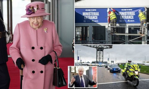 Royal sources reveal Queen's visit to COP26 'hangs in the balance'