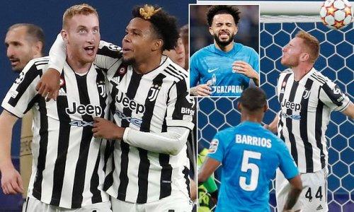 Zenit St Petersburg 0-1 Juventus: Kulusevski heads home late on
