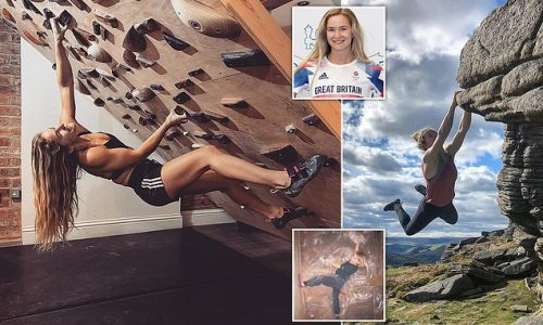 Team GB's Shauna Coxsey hopes for Olympic climbing success in Tokyo