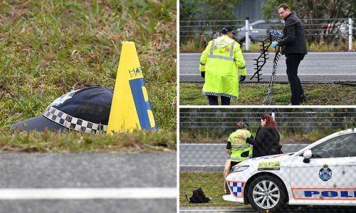 Brave police officer is killed trying to stop a stolen car