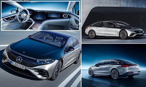 Mercedes' EQS is a space-age electric limo with a hi-tech dashboard