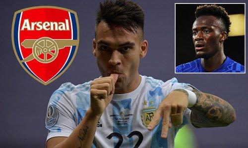 Arsenal 'make inquiry for £77m Inter star Lautaro Martinez'