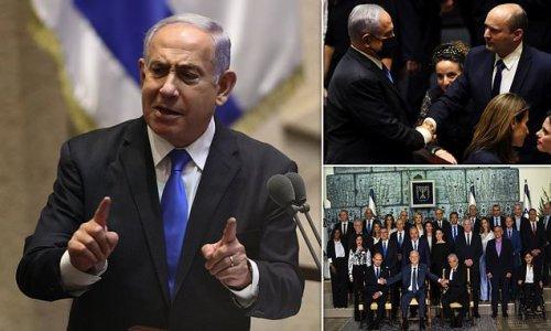 Netanyahu blasts Biden in 'scorched earth' departure speech