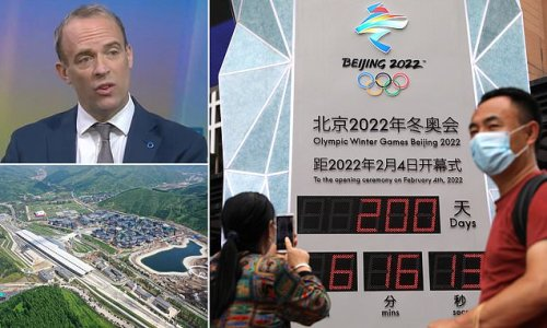 Dominic Raab hints at 'soft' boycott of China's winter Olympics