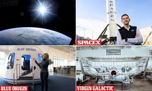 Hundreds of wealthy travelers have booked their tickets for space