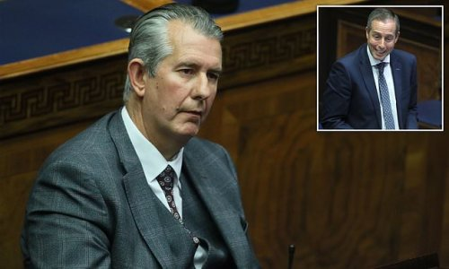 DUP leader Edwin Poots faces internal party rebellion