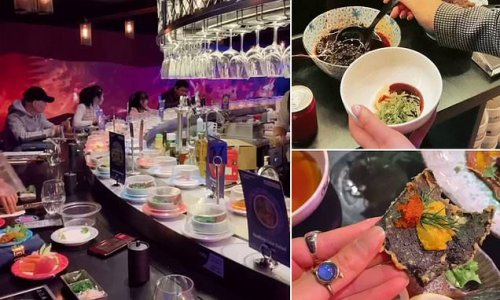 Foodies are losing their minds over this incredible sushi restaurant