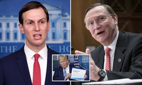 Jared Kushner screamed 'we'll all be dead by June' at start of COVID