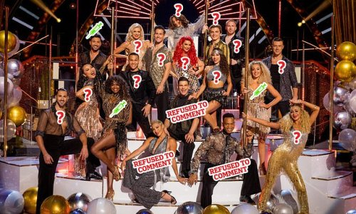 So who ARE the Strictly 'anti-vaxxers'?: Mystery over un-jabbed trio