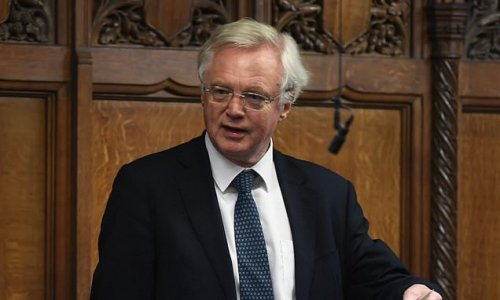 DAVID DAVIS: High taxing Chancellor will send UK economy crashing