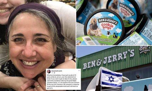 Longtime designer for Ben & Jerry's quits, calls boycott 'despicable'