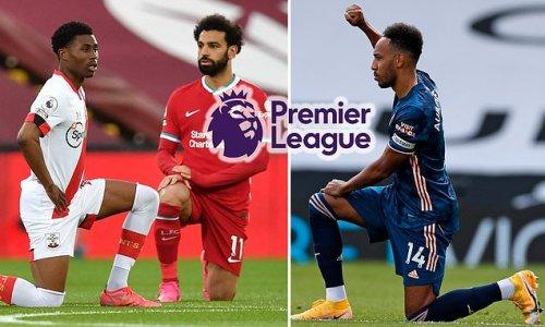 Premier League teams 'WILL continue to take the knee next season'