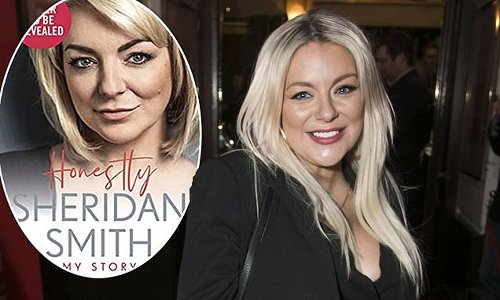 Sheridan Smith says 'truth will come out' in upcoming autobiography
