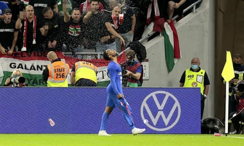 Hungary hit with two-game stadium ban and £160k fine for racial abuse