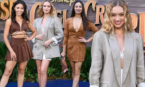 Roxy Horner leads the glamour at Disney's Jungle Cruise premiere