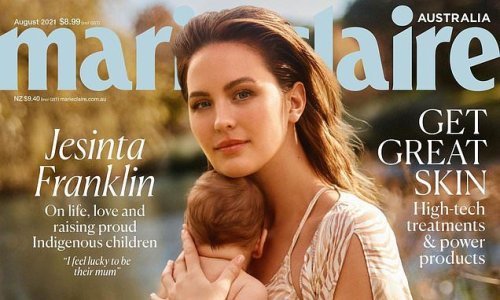 Jesinta Franklin is a model mother in a stunning photoshoot