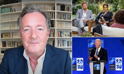 'Pipe down': Piers tells Harry and Meghan people 'sick of yapping'