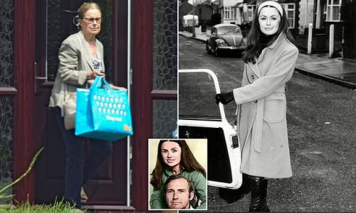 John Stonehouse's mistress is pictured for the first time in years