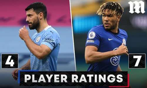 PLAYER RATINGS: Sergio Aguero fluffed his lines for Manchester City