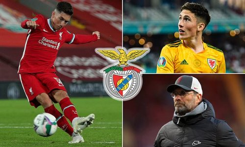Benfica 'begin talks with Liverpool over signing Harry Wilson'