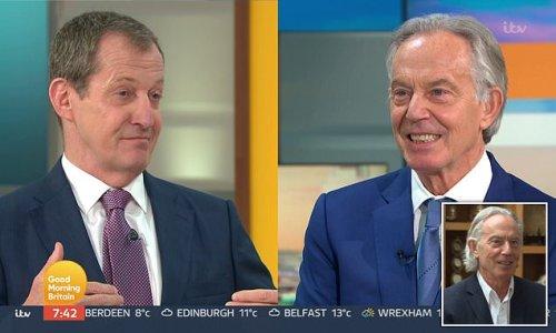 Tony Blair admits his lockdown mullet was mistake