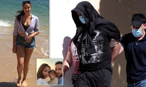 Pictured: Georgian man suspected of murdering British mother in Greece
