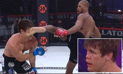 Michael Page inflicts BRUTAL KO blow on Derek Anderson at Bellator 258