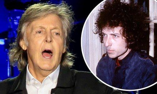 Sir Paul McCartney recalls The Beatles smoking weed with Bob Dylan