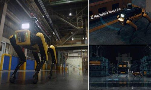 Hyundai is using Boston Dynamics' robot dog to patrol its factories