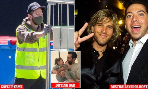 Australian Idol host James Mathison now works at Amazon warehouse