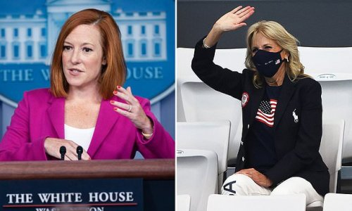 Psaki says Team USA is invited to the White House after Olympics