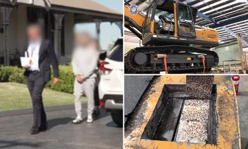 Cops uncover monster 300kg stash of ice worth $184million