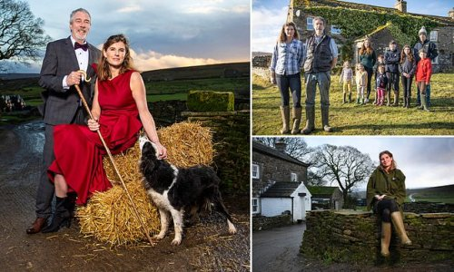 Our Yorkshire Farm Amanda and Clive Owen 'battling to save marriage'