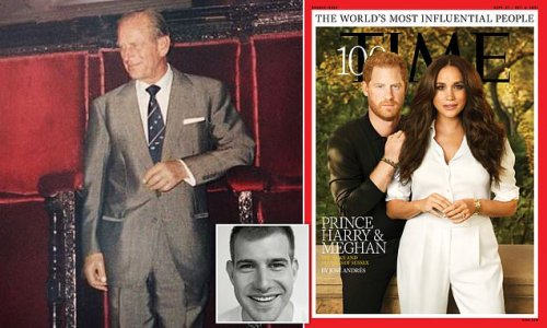 Harry and Meghan's nod to Prince Philip in their Time photoshoot