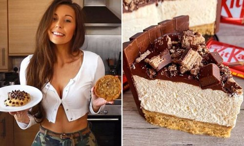 Baker wows millions with no-bake KitKat CHEESECAKE recipe