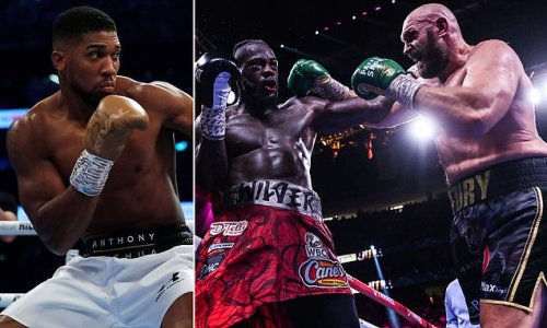 AJ reveals he wants to fight Wilder after his rematch with Usyk