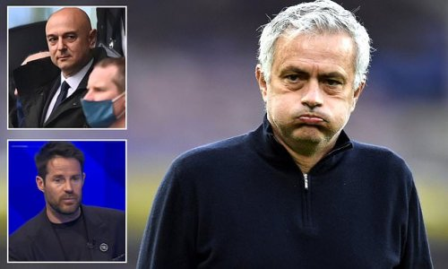 Jamie Redknapp: I'm not surprised at Levy's timing in sacking Mourinho