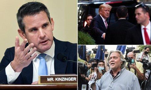 Kinzinger says Jan 6 committee is 'willing' to subpoena Trump