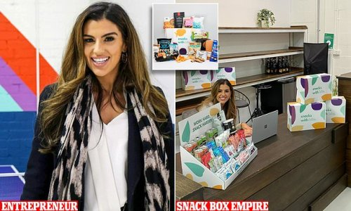 Entrepreneur is on track to make $1million selling office snack boxes