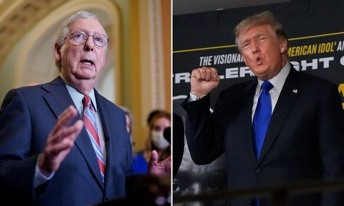 Trump wants McConnell OUT - but few Republicans are willing to help
