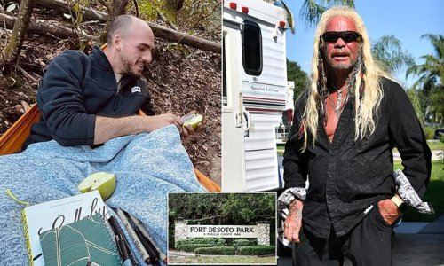 Dog the Bounty Hunter 'finds fresh campsite linked to Brian Laundrie'