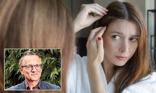 DR MICHAEL MOSLEY: How the stress of Covid can turn your hair grey