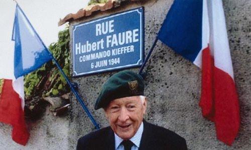 One of France's last D-Day heroes, Hubert Faure, dies aged 106