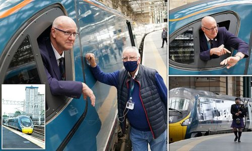 Attempt to break record for fastest train from London to Glasgow FAILS