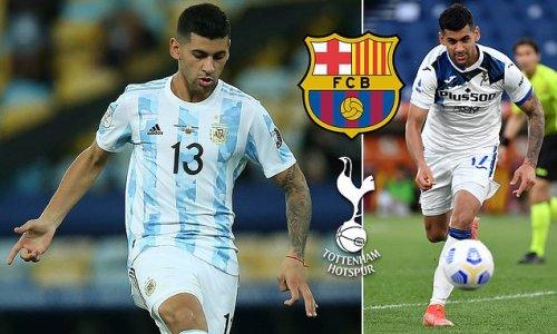 Barcelona 'ready to hijack Tottenham's £42m pursuit of Romero'