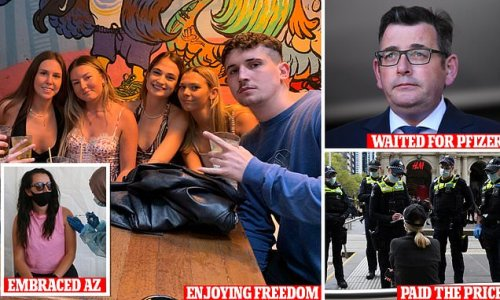 How young Sydneysiders jabbed their way out of lockdown on AstraZeneca