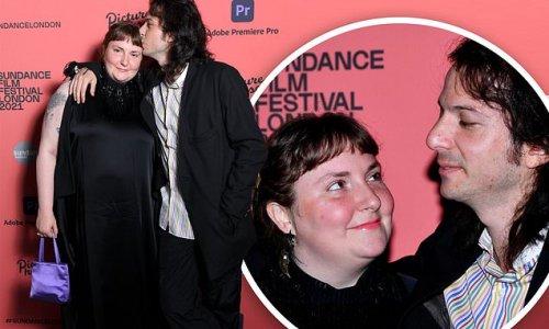 Lena Dunham and boyfriend Luis Felber make their red carpet debut