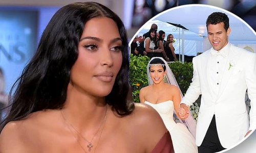 Kim Kardashian appears to face questions about Kris Humphries