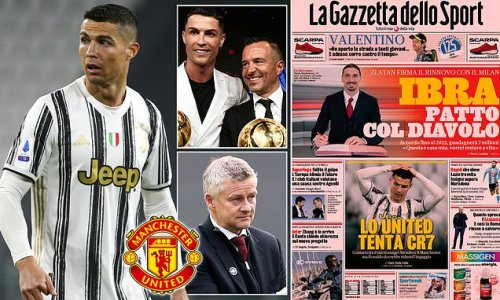 Manchester United 'make contact with Ronaldo's agent over return'